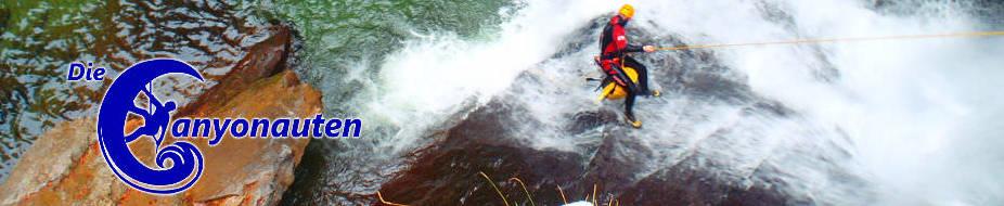 Canyoning Allgaeu mit den Canyonauten