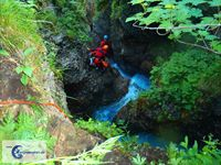 Canyoning bei Oberstdorf