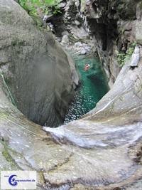 Canyoning Val Pilotera