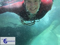 Canyoning am Comer See