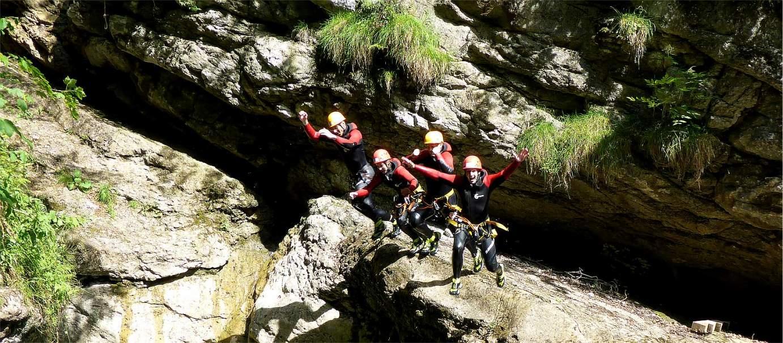 Canyoning Einsteigertouren in Bayern