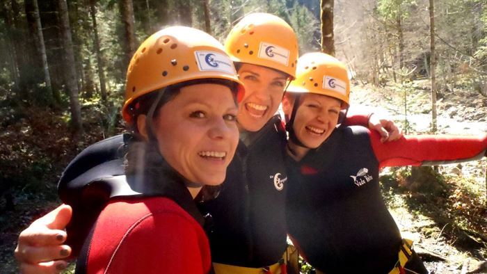 Canyoning for girls