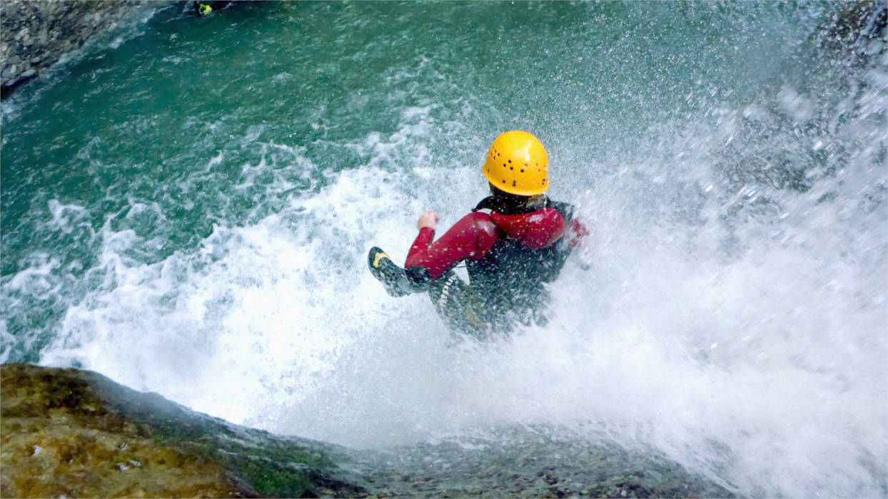 Canyoning Fortgeschrittenentouren in Bayern