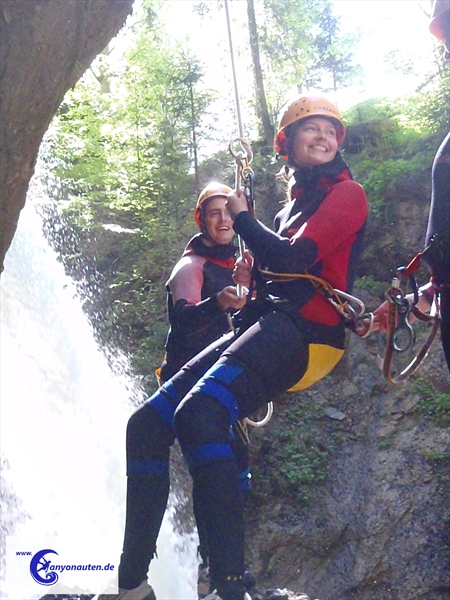 Canyoning im Ostertaltobel