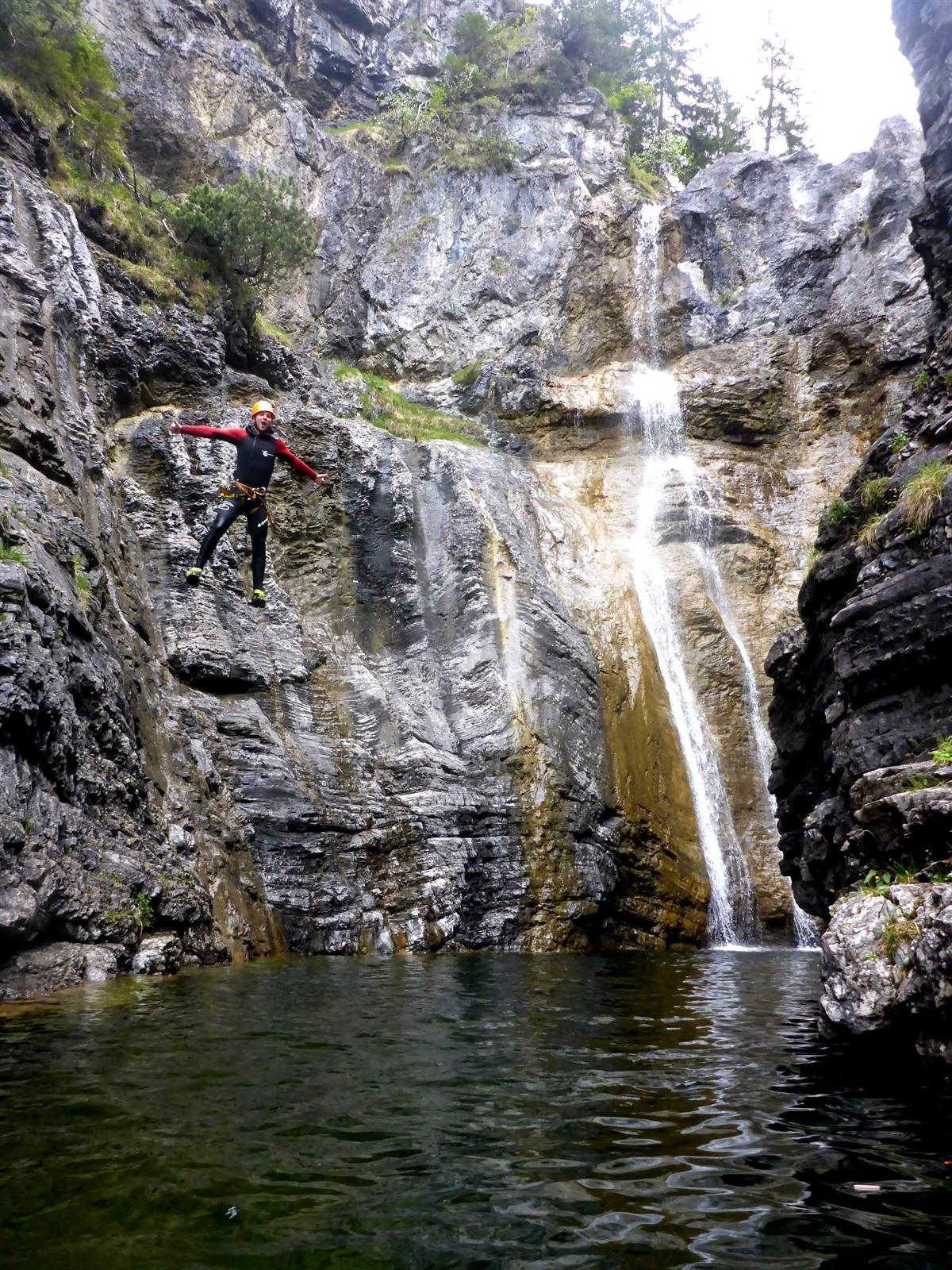 Canyoning Stuibefaelle Jumping Jack