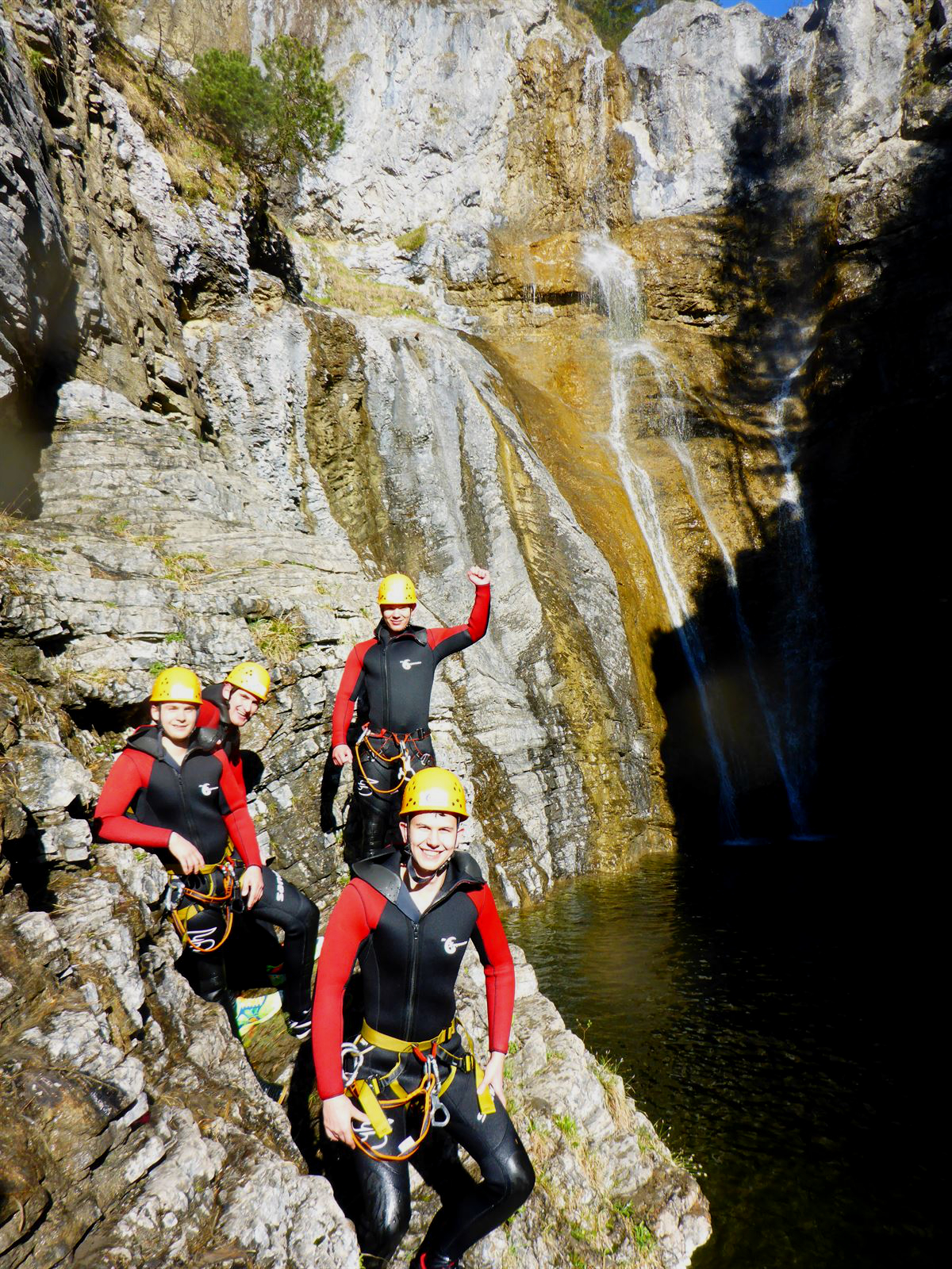 Canyoning Junggesellenabschied