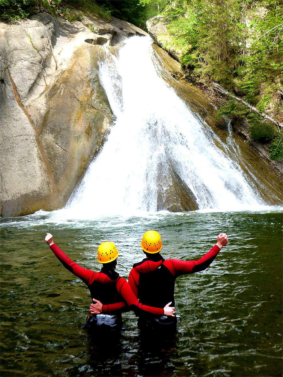 Canyoning in Bayern im Allgäu