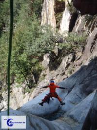 Canyoning in der Südschweiz