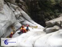 Canyoning Val Cresciano