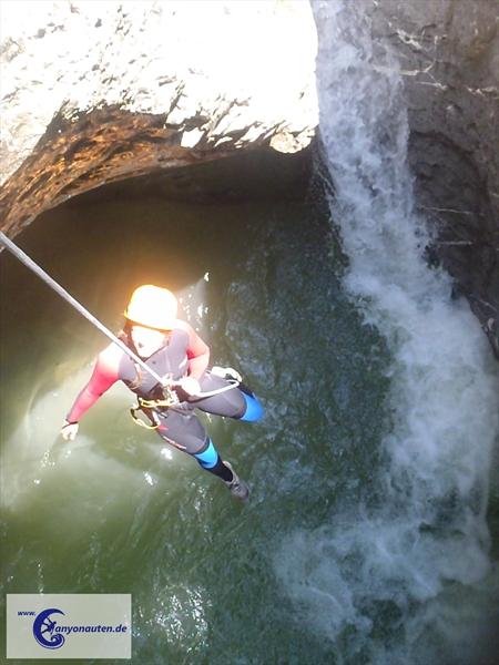 Canyoning ist die Perfekte Mischung aus Berg- und Wassersport
