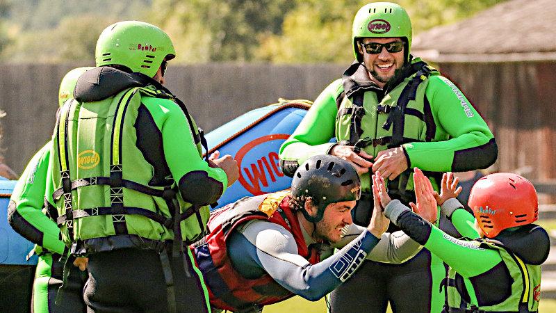 Familienrafting bei WIGGI-Rafting